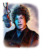 Bob Dylan Digital Art - You Gotta Lotta Nerve by Joseph Juvenal