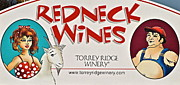 Winery Signs Prints - You Might be a Redneck Print by Robert Harmon