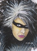 Etc. Painting Metal Prints - Youko Sunshine Metal Print by Charles  Daley