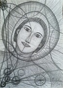 Christianity Drawings - Young Abraham Father of Faith by Tracy Smith