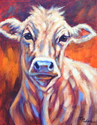 Theresa Paden - Young Cow in Sunlight