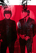 The Beatles Mixed Media Acrylic Prints - Young Gs Acrylic Print by Molly Picklesimer