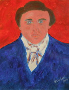 New Martyr Paintings - Young Joseph Smith Junior 1 by Richard W Linford