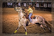 Char Doonan - Young lady barrel racer