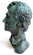 Young Lincoln -sculpture Print by Derrick Higgins