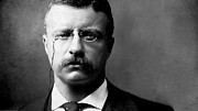 Teddy Roosevelt Digital Art Posters - Young Theodore Roosevelt Poster by Bill Cannon