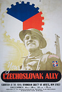 Methodius Prints - Your Czechoslovak Ally Print by Paul Fearn