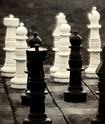 Chess Queen Photo Posters - Your Move Poster by Colleen Kammerer