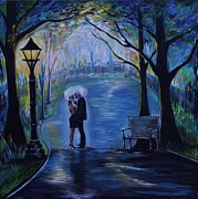 Pathway Paintings - Your My Soul Mate by Leslie Allen