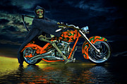 Reaper Framed Prints - Your ride Awaits Framed Print by Steven Agius