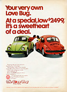 The Love Bug Posters - Your very own Love Bug Poster by Nomad Art And  Design