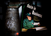 Book Cover Photo Prints - Youre In Business Print by Bob Orsillo