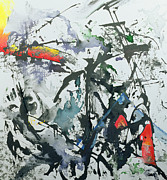 Abstract Expressionism Paintings - Youre So Different by Thomas Hampton