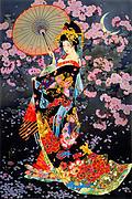 Yozakura Print by Haruyo Morita