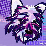 Pets Art Digital Art - Yuki by Mellisa Ward