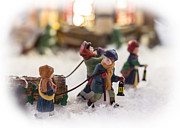 Miniatures Photos - Yule Log by Caitlyn  Grasso
