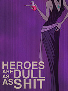 Purple Posters - Yzma Poster by Christopher Ables