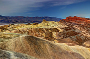 Desolation Prints - Zabriskie Point II Print by Heidi Smith