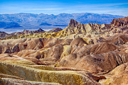 Manley Framed Prints - Zabriskie Point Framed Print by Mimi Ditchie