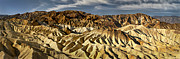 Point Park Originals - Zabriskie Point panorama by Eduard Moldoveanu
