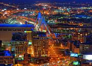 Joann Vitali - Zakim Bridge and TD Garden Boston Aerial