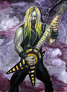 Label Originals - Zakk Wylde number two by Michael Cook