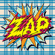 Graphic Posters - Zap Poster by Gary Grayson
