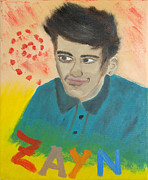 One Direction Posters - Zayn Poster by Peter Kallai