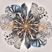 Zebra Flower Print by Anastasiya Malakhova