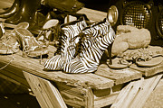 Lois Wilkes - Zebra Shoes