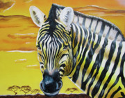 Thomas J Herring - Zebra Sunset