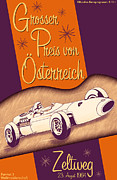 Rally Posters - Zeltweg Austria Formula One Grand Prix 1964 Poster by Nomad Art And  Design