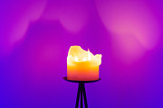 Candlelight Prints - Zen Candle Print by Semmick Photo
