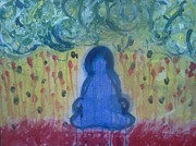 Enlightenment Pastels - Zen  by Holly  Varner