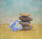 Spiritual Being Prints - Zen Print by Kim Hojnacki