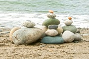 Author And Photographer Laura Wrede Posters - Zen Meditation Balance Poster by Author and Photographer Laura Wrede