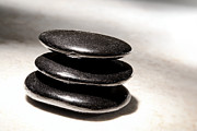 Meditative Photos - Zen Stones by Olivier Le Queinec