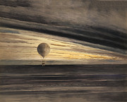 Balloon Digital Art - Zenith at Sunrise by Digital Reproductions