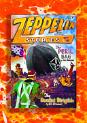 Led Zeppelin Art - Zeppelin Stories number 7 July 1929 by Olaf Del Gaizo