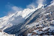 Zermatt Mountains Print by Brian Jannsen