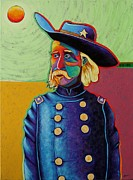 1876 Paintings - Zero Hero - George Armstrong Custer by Joe  Triano