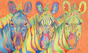 Brightly Paintings - Zesty Dazzle by Rhonda Leonard