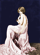 Ziegfeld Girl Prints - Ziegfeld Girl Anna Buckley circa 1925 Print by Rosie Mills