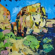 Zion National Park Pastels - Zion Majesty by Carol Bower