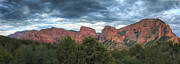 Zion National Park Posters - Zion National Park Panorama Poster by Eddie Yerkish