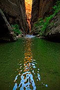 Jamie Pham - Zion Reflections - The Narrows at Zion National Park.