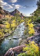 North Fork Framed Prints - Zion Framed Print by Todd Young