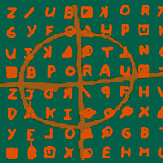 Crytogram Prints - Zodiac Killer Code and SIgn 20130213p28 Print by Wingsdomain Art and Photography