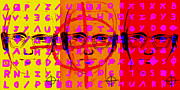 1960 Digital Art Posters - Zodiac Killer Three With Code and SIgn 20130213 Poster by Wingsdomain Art and Photography