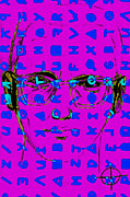 Napa County Digital Art - Zodiac Killer With Code and SIgn 20130213m180 by Wingsdomain Art and Photography
